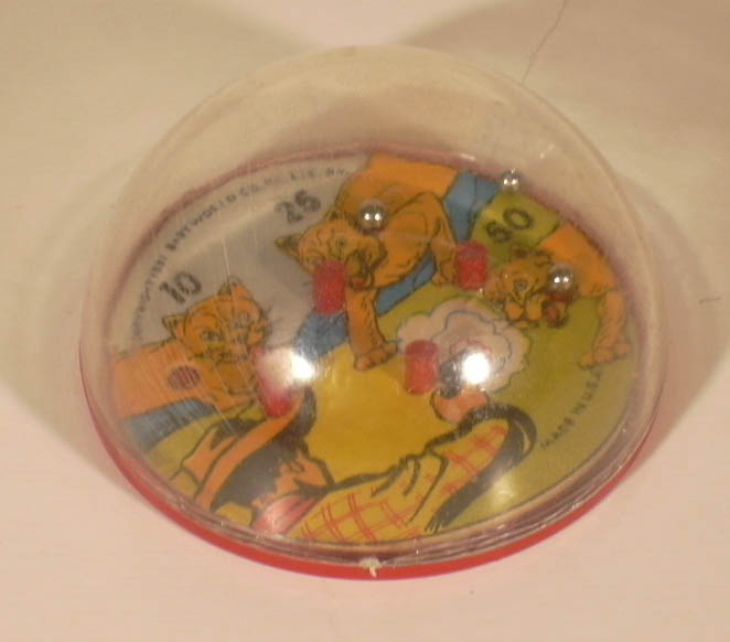 Baby World Co, Inc New York Puma Shoot metal ball game of hand skill 1951