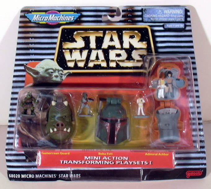 Galoob Micro Machines Star Wars Mini Action Transforming Playsets I MOC 1997