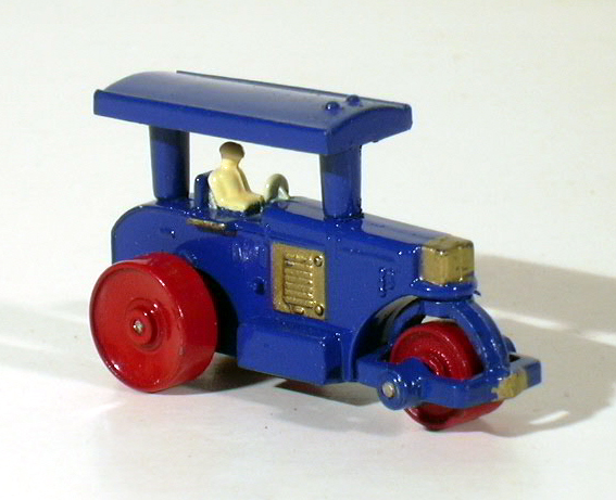 Matchbox No. 1 Road Roller 1988 Authentic Recreation