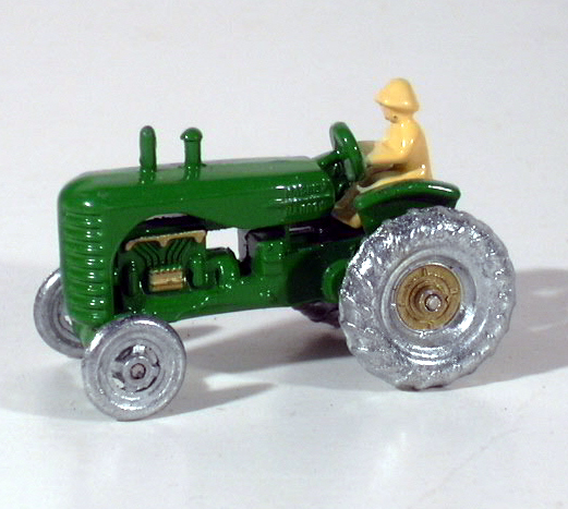 Matchbox No. 4 Massey Harris Tractor 1988 Authentic Recreation