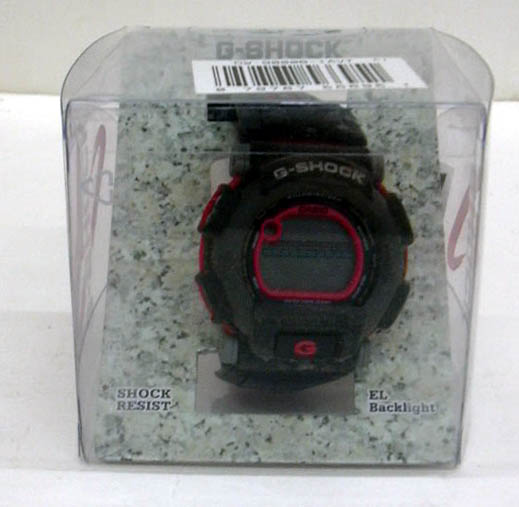 Casio G-Shock DW-9000B-1AVT wristwatch in original package