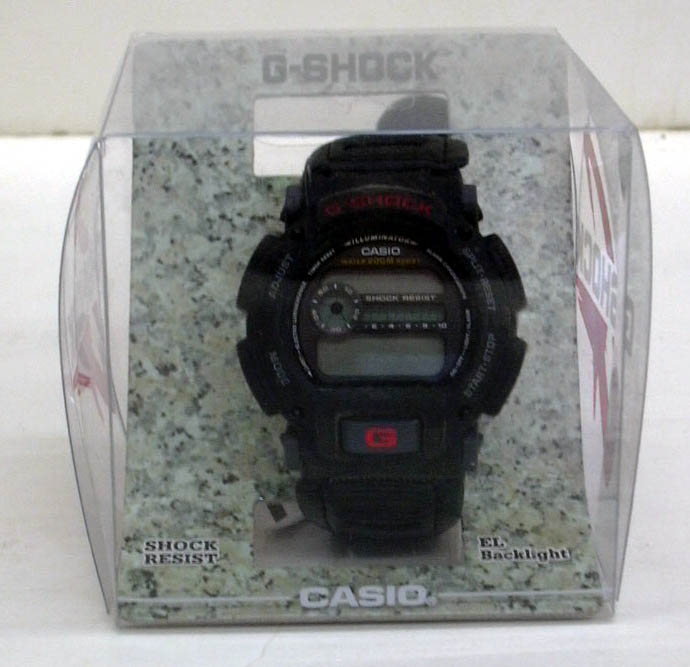 Casio G-Shock DW-9000B-188VT wristwatch in original package