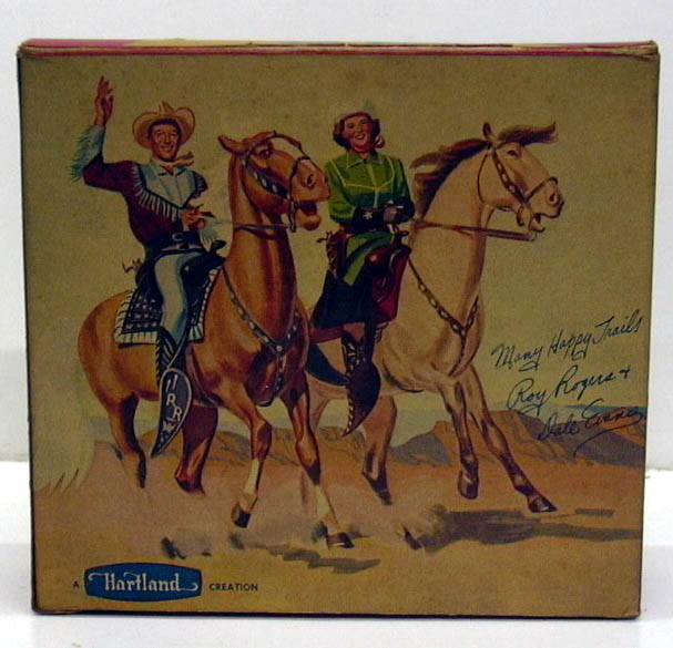 Hartland #802DE Dale Evans on Buttermilk in ORIGINAL PICTORIAL BOX