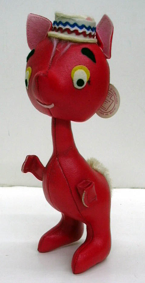 Sarco Mop-Pets red squirrel porkpie hat ca 1950s original tag