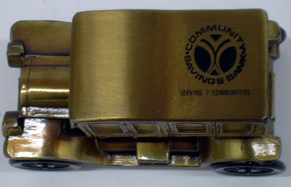 1912 Packard Banthrico Coin Bank NIB 1970s