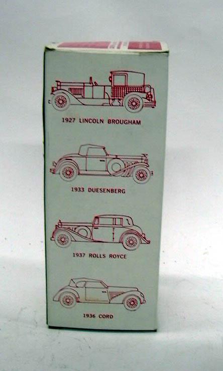1927 Lincoln Brougham Banthrico Bank NIB 1970s