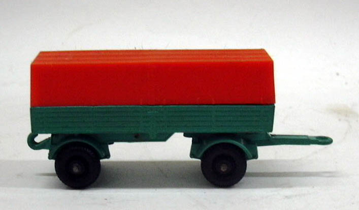 Matchbox Lesney Mercedes Trailer with canopy #2 1960s
