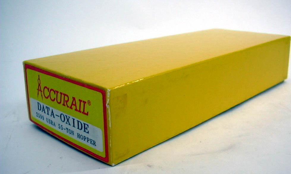 Accurail HO Oxide USRA 55-ton Hopper r kit #2599 unbuilt 1960s