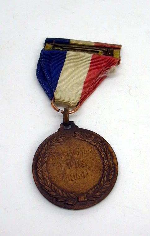East Hartford High School Junior Biological gold silver bronze medal set 1964 CT