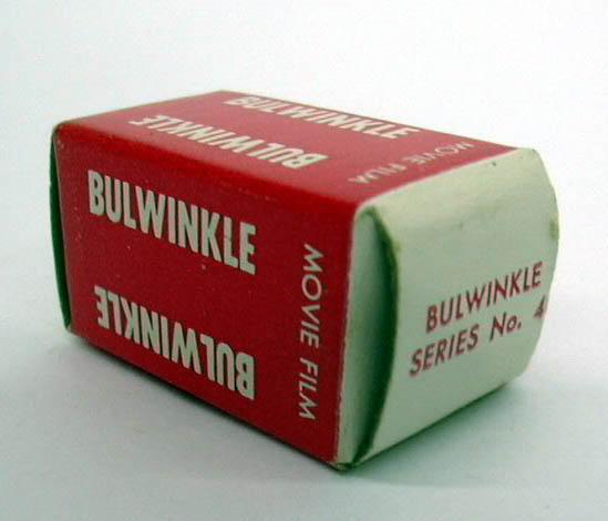 Rocky & Bulwinkle Acme Toy Viewer movie filmstrip #4 MIB 1960s
