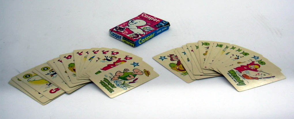 Casper the Friendly Ghost & His TV Pals card game complete in box 1950s