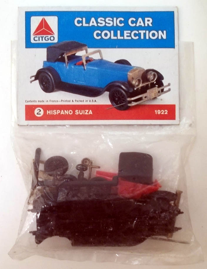CITGO Classic Car Collection plastic model 1922 Hispano Suiza
