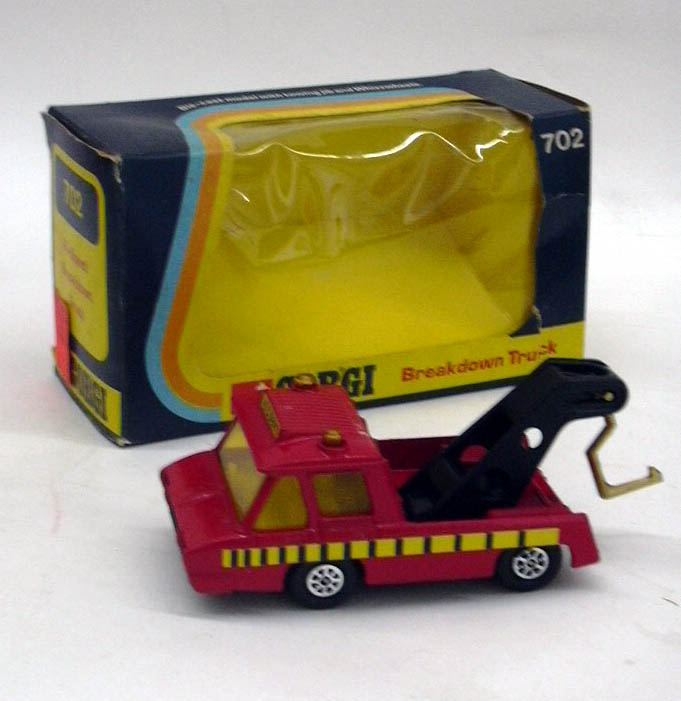 Corgi #702 Hi-Speed Breakdown Truck in original box 1974