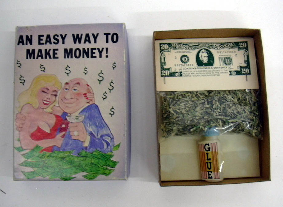 Easy Way to Make Money novelty joke in a box 1983 Cal-Themes Cerritos CA