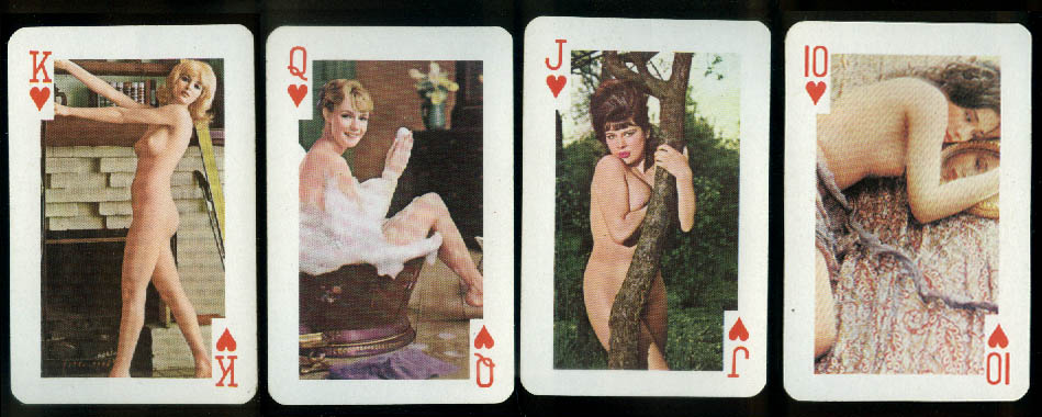 Gaiety Deck of Topless Nudes #2020 54 cards 54 naughty poses