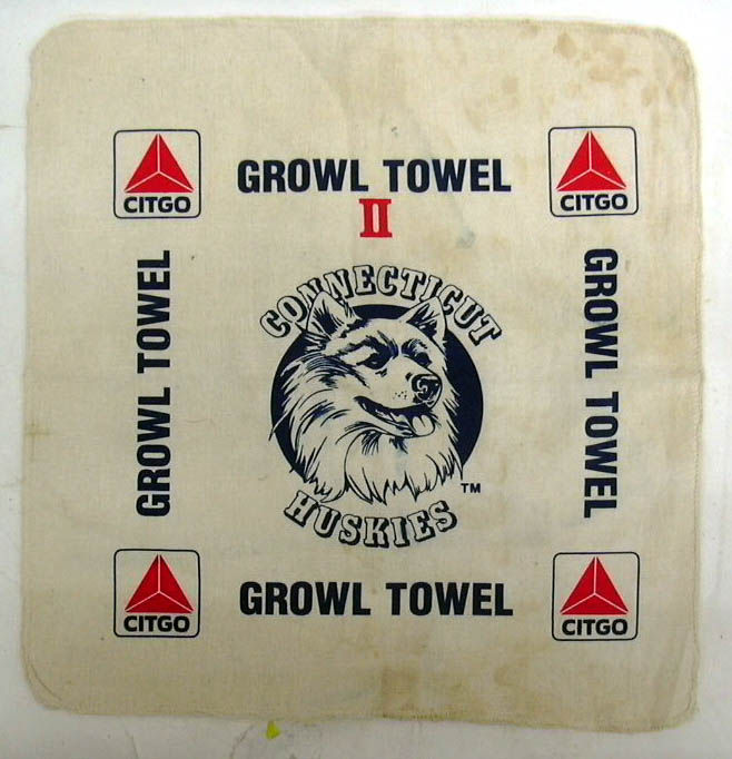 Image for University of Connecticut Huskies UConn Growl Towel II CITGO
