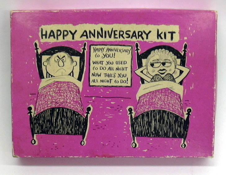 Image for Happy Anniversary Kit novelty joke boxed set 1960s