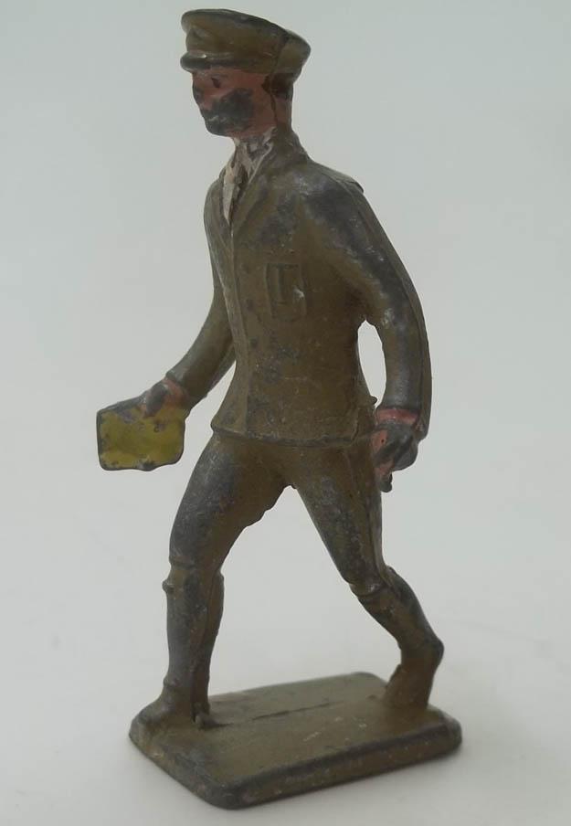 Lincoln Logs lead figure Western Union Deliveryman 1950s