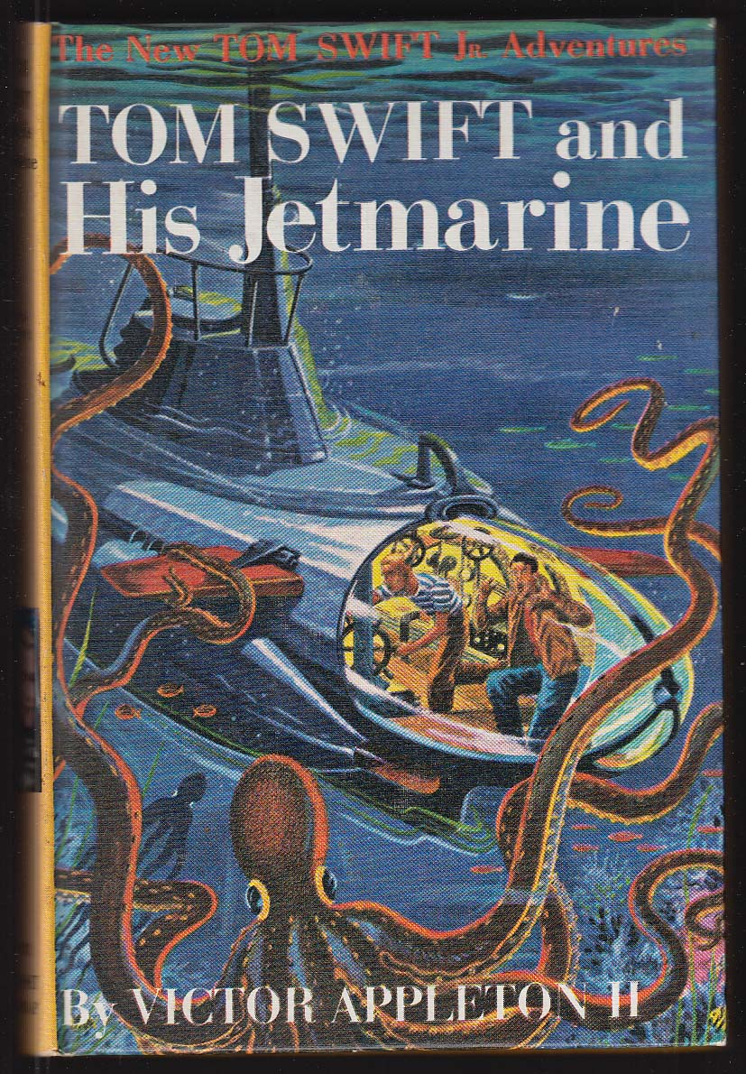 Tom Swift & His Jetmarine pictorial cover version #2