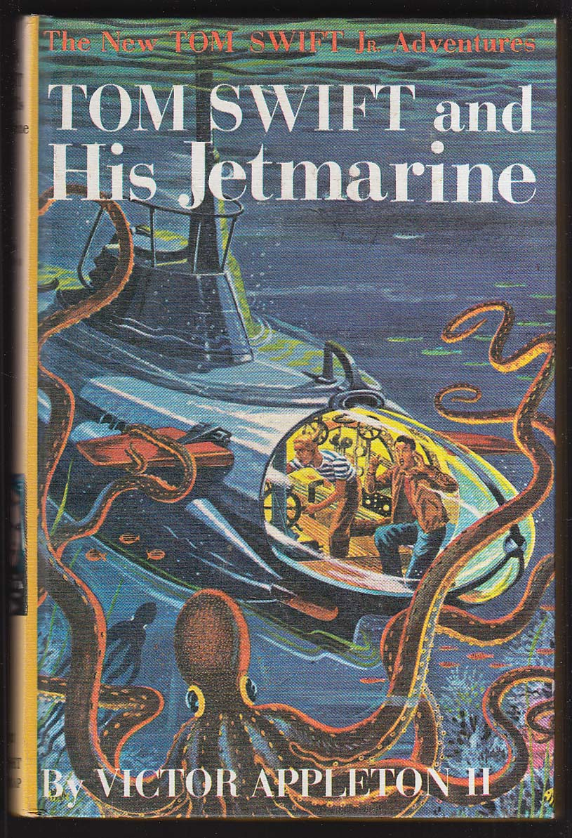 Tom Swift & His Jetmarine pictorial cover version