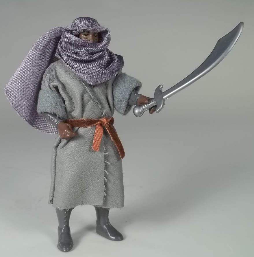 Azeem Robin Hood Prince of Thieves 1991 Kenner Action Figure COMPLETE + Cardback