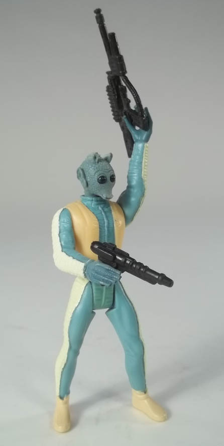 Greedo Star Wars Power of the Force 2 1996 Kenner Action Figure COMPLETE