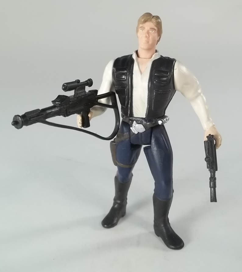 Han Solo Star Wars Power of the Force 2 1995 Action Figure COMPLETE