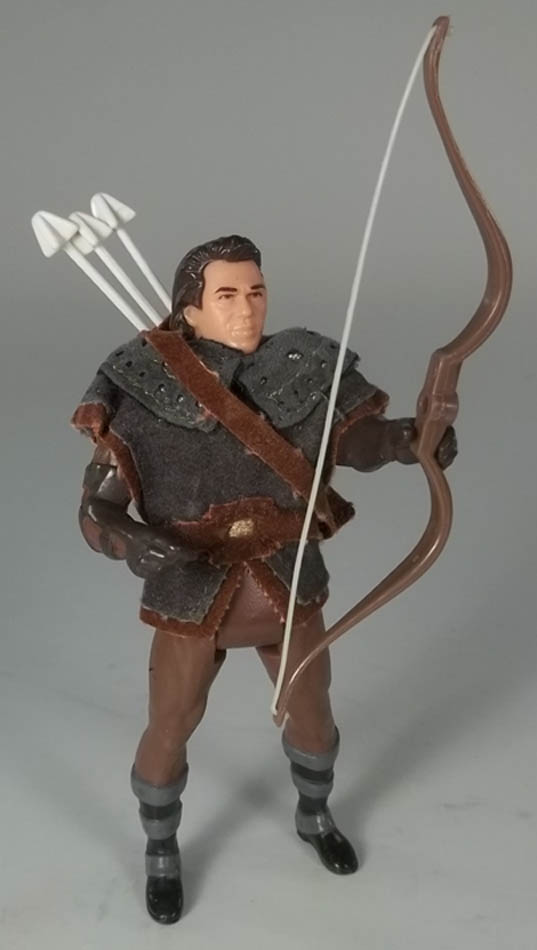 Long Bow Robin Hood Prince of Thieves Kenner Action Figure COMPLETE + Cardback