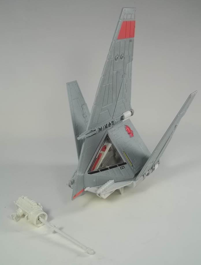 Image for Luke Skywalker's T-16 Skyhopper Power of the Force 2 1997 Toy Vehicle COMPLETE