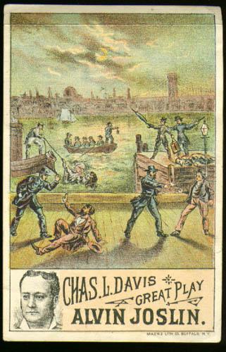 Image for Chas L Davis Play Alvin Joslin tradecard 189?
