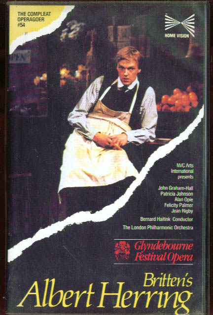 Image for Britten: Albert Herring: Graham-Hall Opie VHS 1985