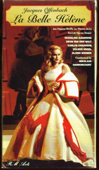 Offenbach: La Belle Helene: Kasarova + VHS 1997