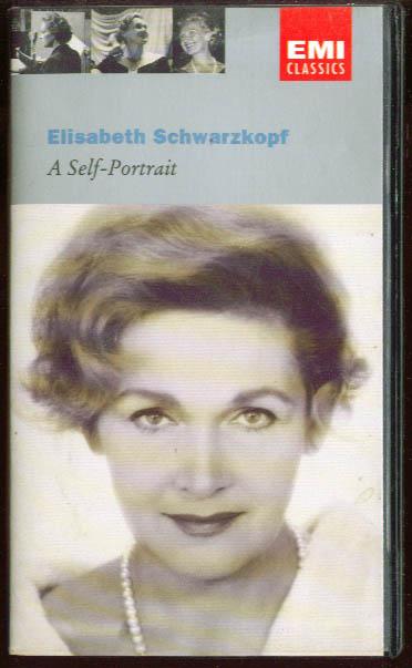 Elisabeth Schwarzkopf A Self-Portrait VHS 1995