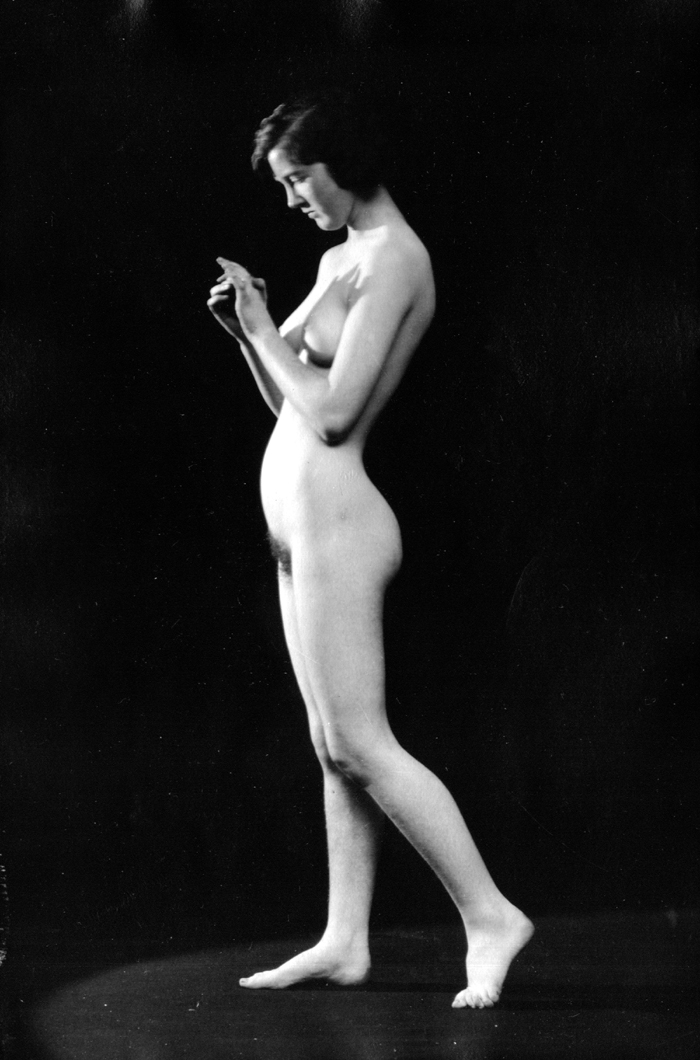 Image for Her hands 1920s nude 8x10 Albert Arthur Allen photo