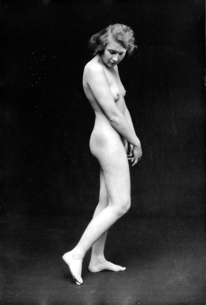 Image for Looking down 1920s nude 8x10 Albert Arthur Allen photo