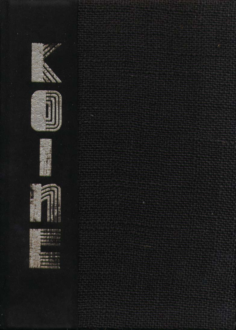 Image for Koine Connecticut College for Women New London CT 1933 Yearbook
