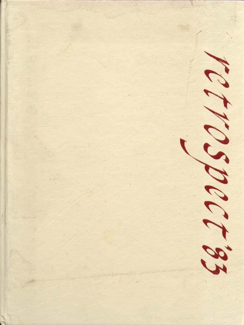 Kingswood-Oxford School West Hartford CT 1983 Yearbook
