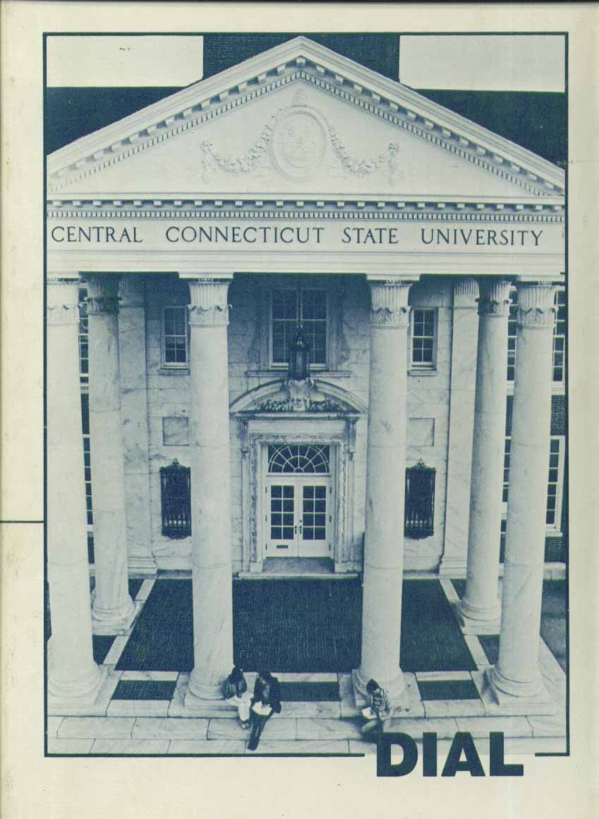 Dial Central Connecticut State University New Britain CT 1983 Yearbook