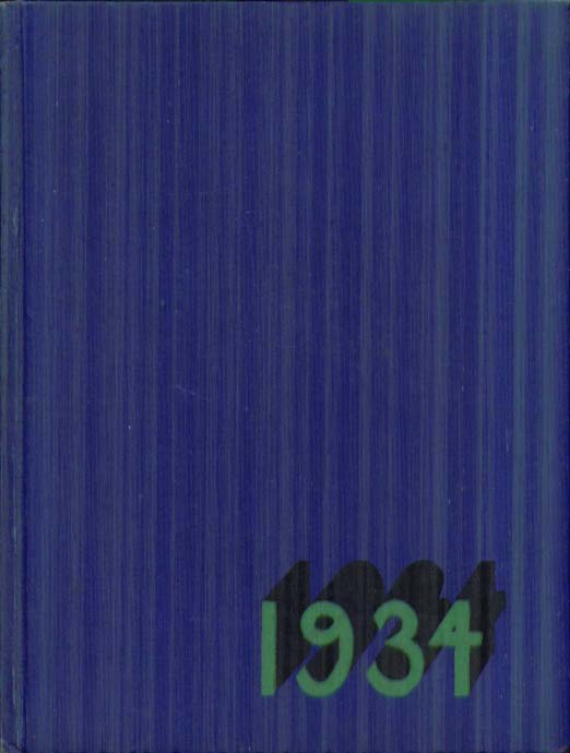 Klipsun Washington State Normal School Bellingham Washington 1934 Yearbook