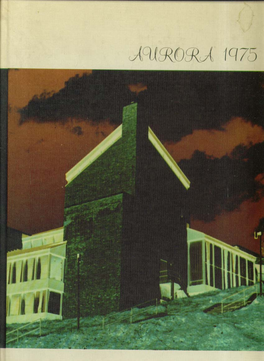 Aurora Queensburough Community College Bayside New York 1975 Yearbook