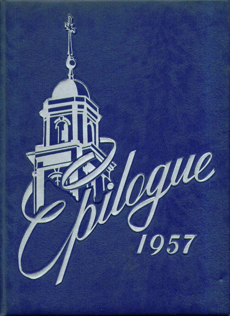 Image for Epilogue Saint Joseph College West Hartford Connecticut 1957 Yearbook