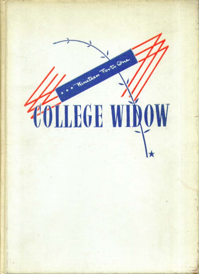 Image for College Widow Christian College Columbia Missouri 1941 Yearbook