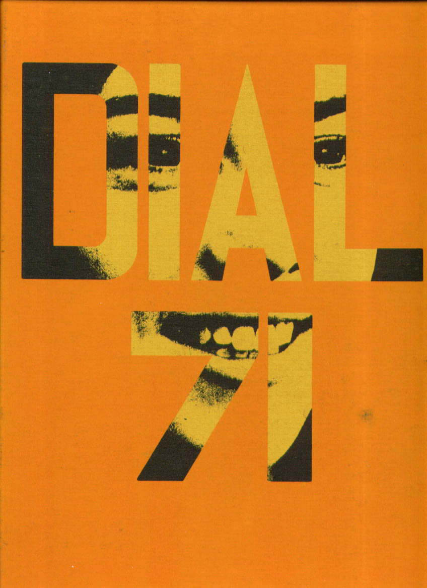 Dial Central Connecticut State College New Britain CT 1971 Yearbook