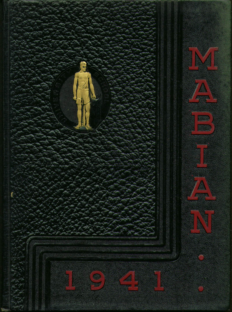 Image for Mabian University School Shaker Heights Ohio 1941 Yearbook