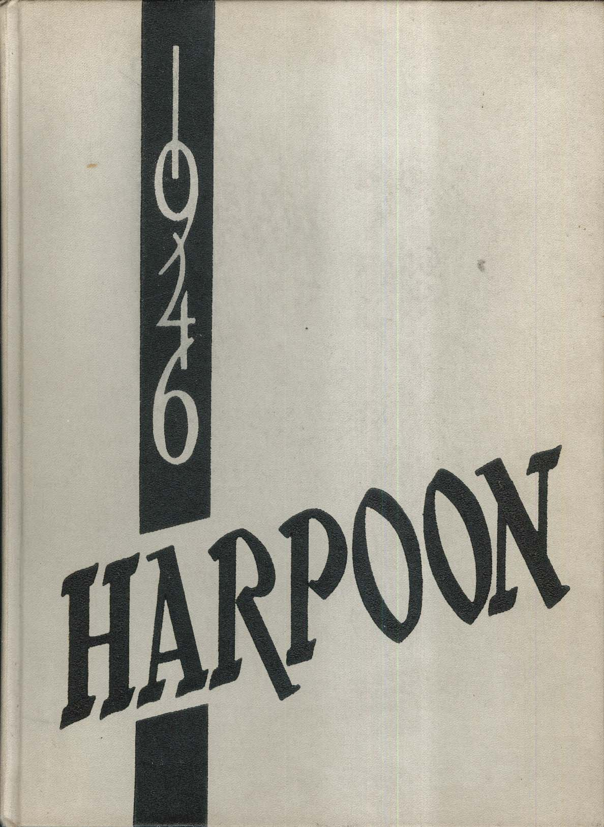 1946 Harpoon Harlan High School Harlan Iowa IA Yearbook