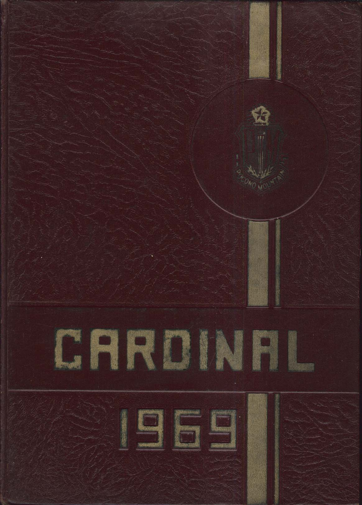 Image for Cardinal 1969 Pocono Mountain High School Swiftwater Pennsylvania PA Yearbook