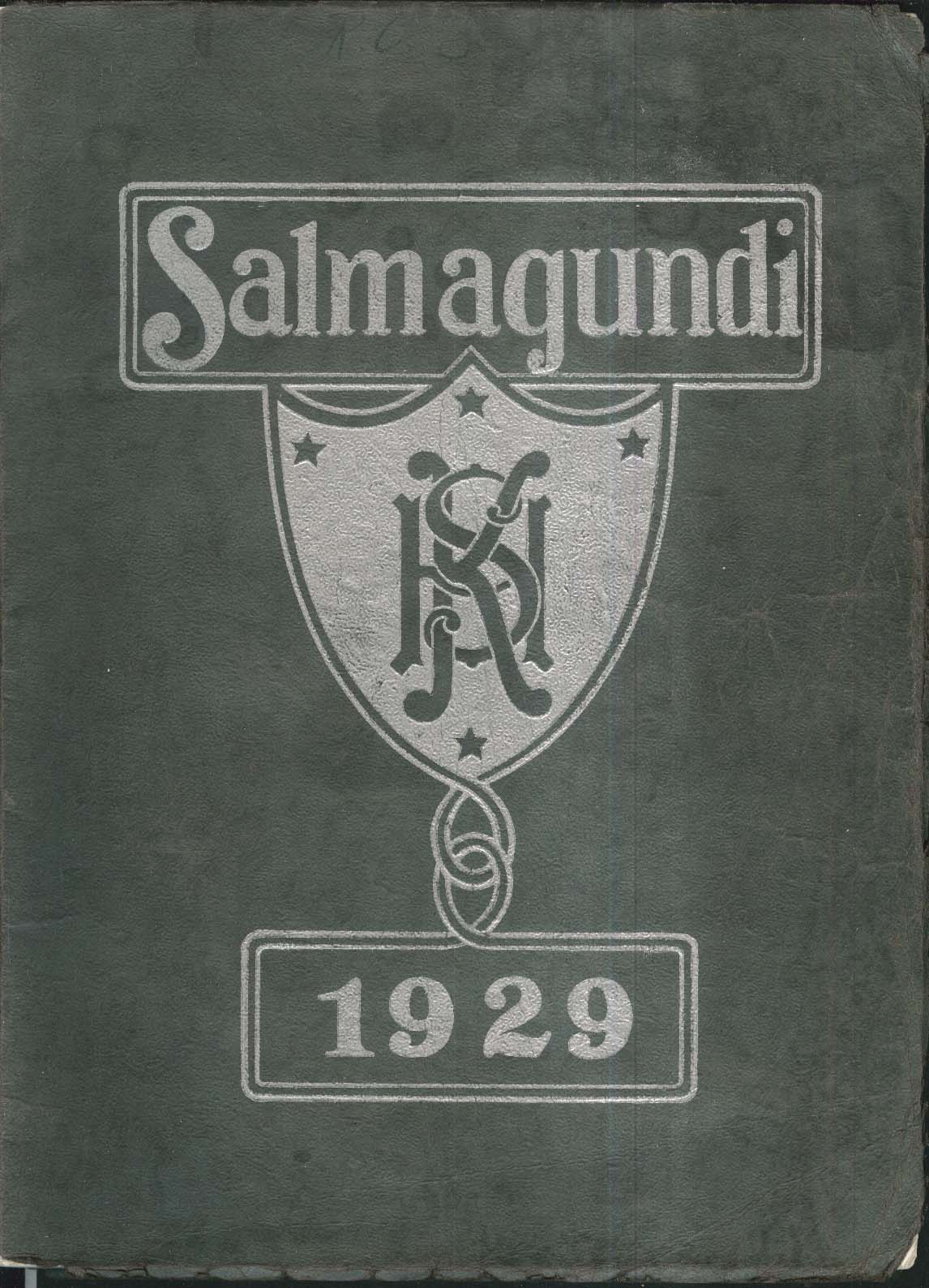 Image for Salmagundi KHS Keene High School New Hampshire NH 1929 Yearbook