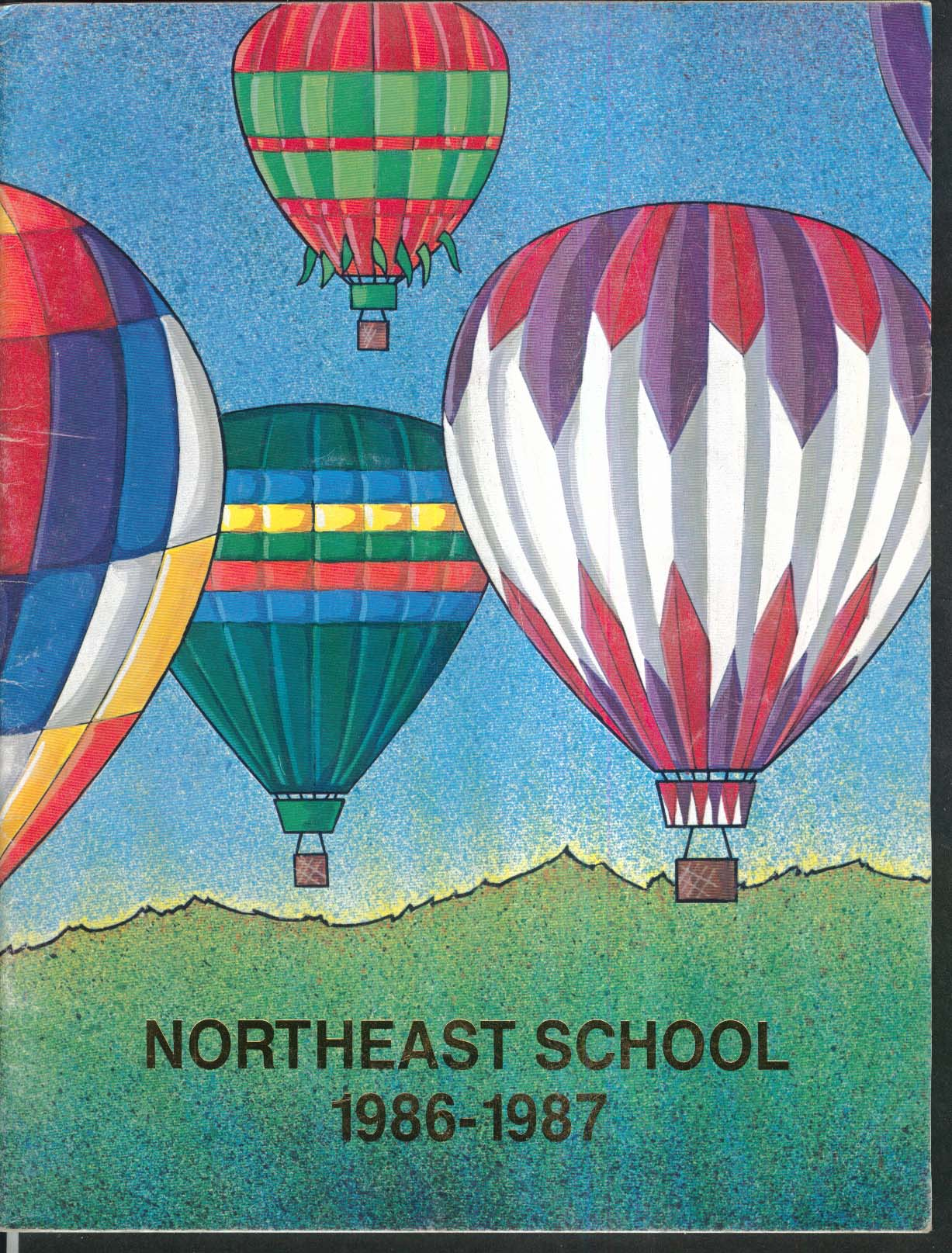 Image for Northeast School Vernon Connecticut CT 1986-1987 Yearbook