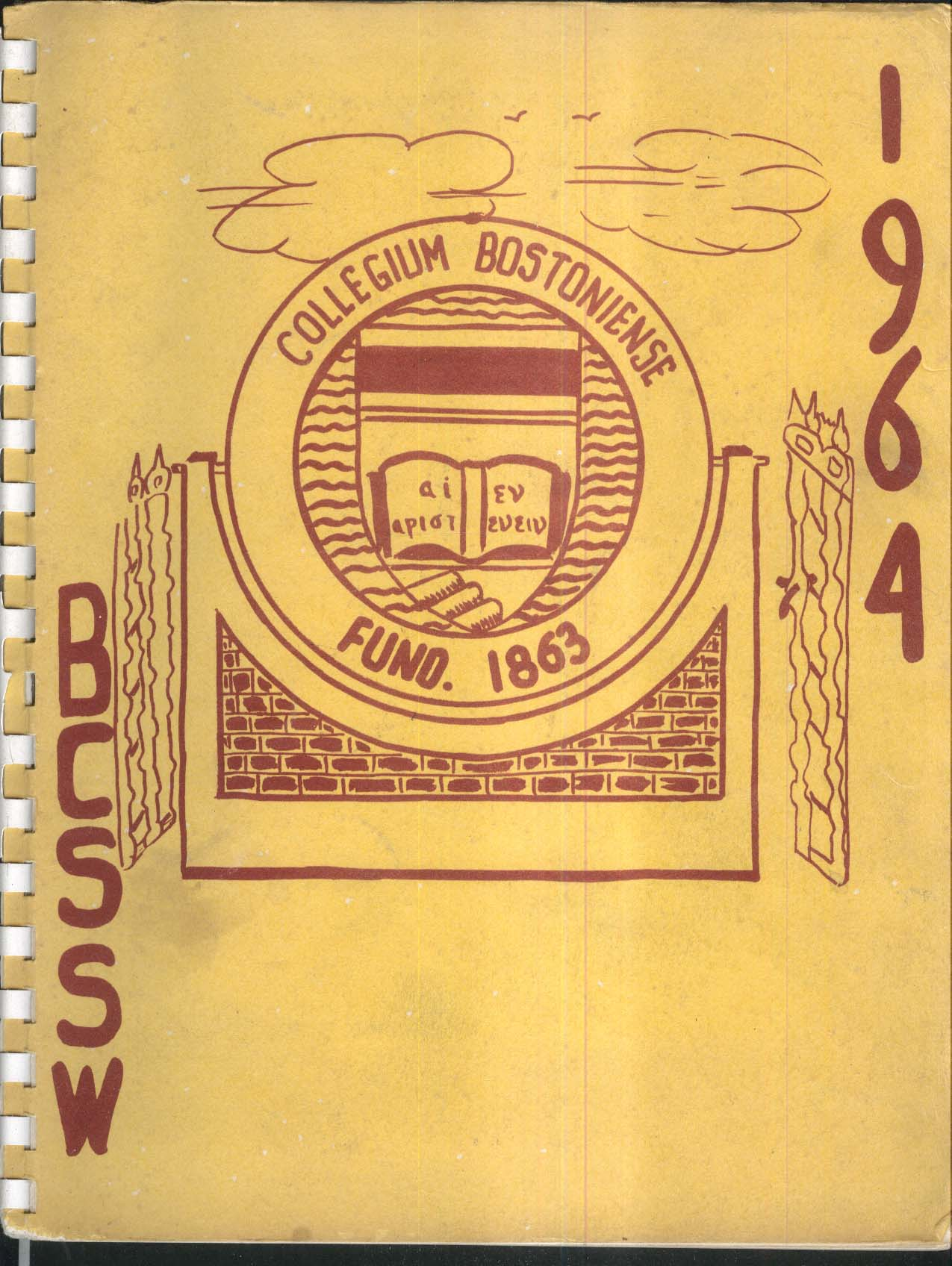 Image for Boston College School of Social Work 1964 Yearbook