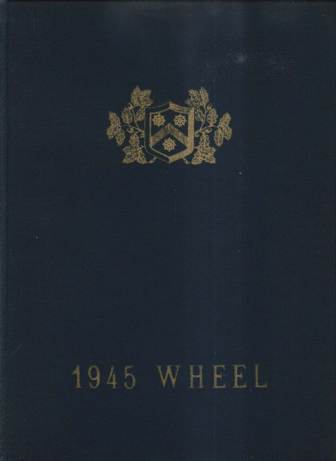 1945 Wheel Wheelock College Boston Massachusetts MA Yearbook
